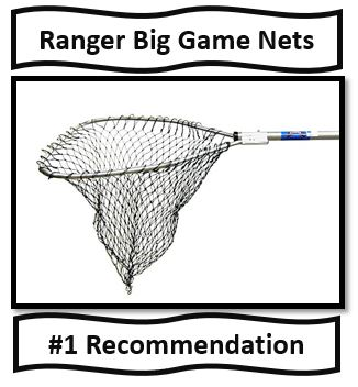 The best fishing nets for catfish fishing - ranger big game nets