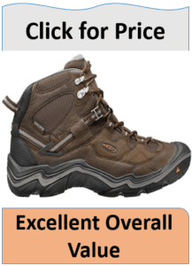 mens leather hiking boot