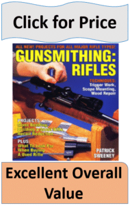 Gunsmithing Rifles book by Patrick Sweeney