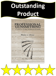Book professional gunsmithing by Walter Howe