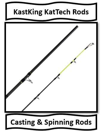 The KastKing KatTech Rods - the best catfish fishing rods