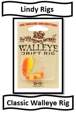 Lindy rigs - classic walleye fishing lure