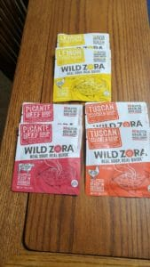6 packets wild zora soup packets