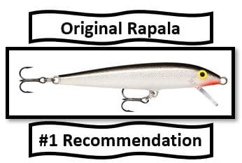 Original Rapala - best walleye fishing lures