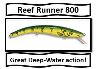 reef runner 800- best walleye fishing lures
