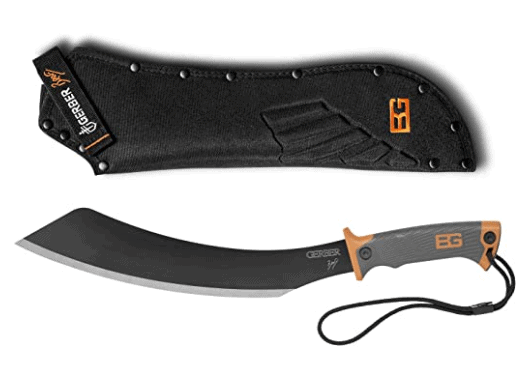 bear grylls machete with sheath