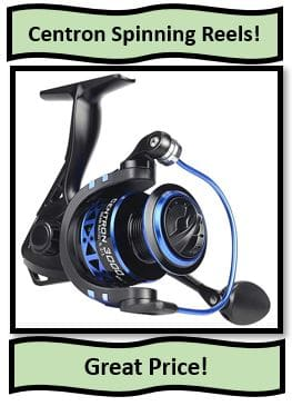 The Centron Spinning Reel serious from KastKing