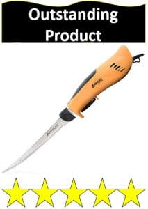 tan handle PRO Series electric fillet knife