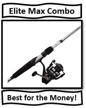 Abu Garcia Elite Max Spinning Combo - The Best Abu Garcia Spinning Rod and Reel Combo for the Money