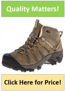 brown KEEN womens hiking boots