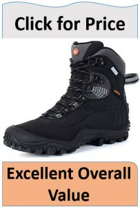 black leather womens hiking boots