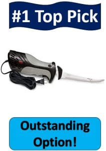 gray and black Rapala electric fillet knife