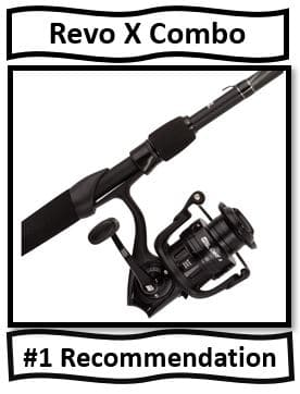 Revo X Spinning Rod Combo - the best abu garcia spinning rod and reel combo