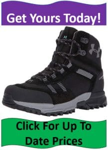 grey lace up hiking boots