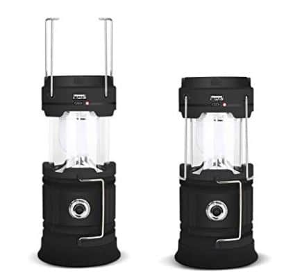 CMB 2-in-1 Rechargeable Camping Solar Lantern