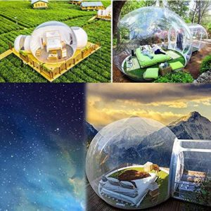 bubble dome in 4 scenarios