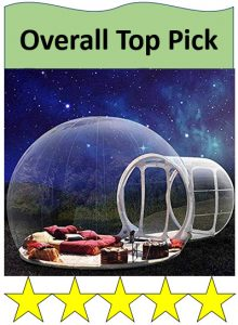 HUKOER bubble tent night astronomy