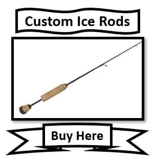St. Croix Custom Ice Fishing Rods