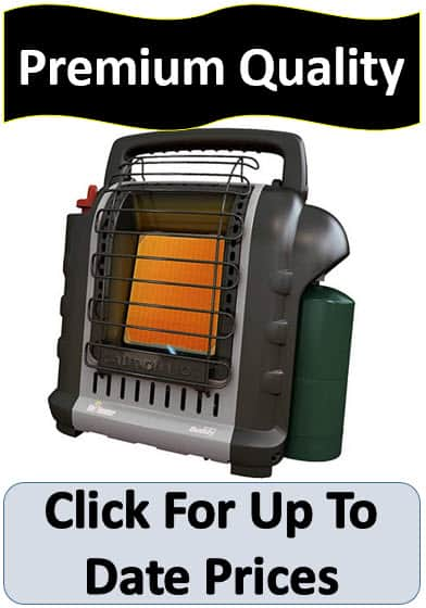 Ice fishing space heater