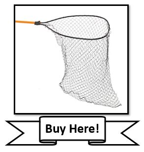 The Frabill Deep Conservation Fishing Net for Muskie