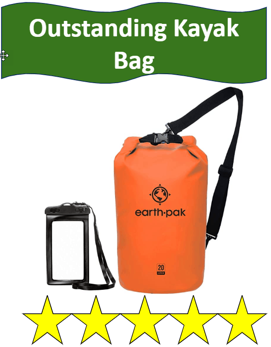 Earth Pak Orange Kayak Bag