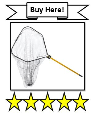 The Frabill Power Stow Knotless Fishing Net