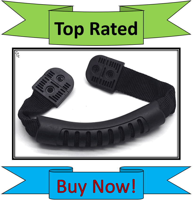Antrader Attachable Rubber Kayak Handles