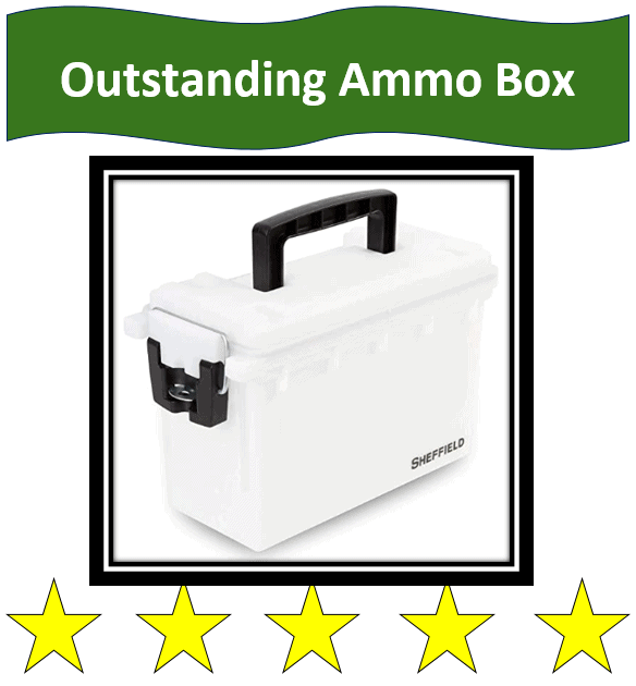 Sheffeld 12634 Locking Ammo Box