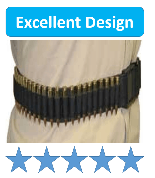 Bagmaster Web Rifle Cartridge Ammo Belt