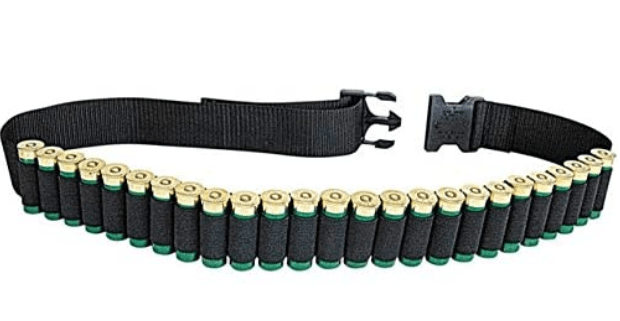 Allen Shotgun Shell Belt loaded